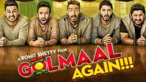 Hindi Songs – Listen And Download Golmaal Again Movie MP3 Songs